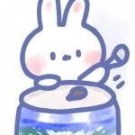微信头像兔子卡通可爱 高清超萌的手绘卡通兔子头像图片
