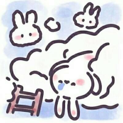 卡通超可爱兔兔头像