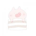 卡通猪图片呆萌头像 高清可爱呆萌的猪微信头像图片