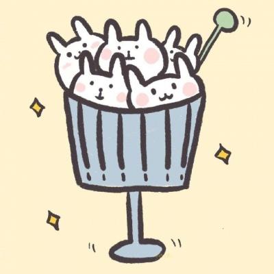 萌萌哒小兔子卡通头像