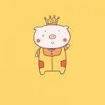 可爱小猪qq头像 高清好看可爱小猪的图片头像