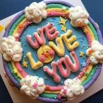 高清好看的彩色蛋糕图片头像