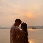 高清一对两张的情侣照片唯美小清新头像图片