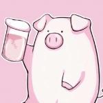 超萌卡通小猪头像 高清超萌的猪猪头像卡通可爱图片