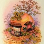 高清童话般温馨的唯美小屋图片头像