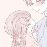 粉色情头二次元 高清一对两张的情头粉色系动漫图片