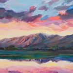 油画风景天空头像 高清抽象有关天空的油画图片头像