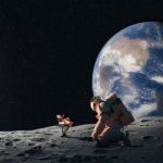 宇航员潮图头像 高清穿宇航员服装的太空人系列头像