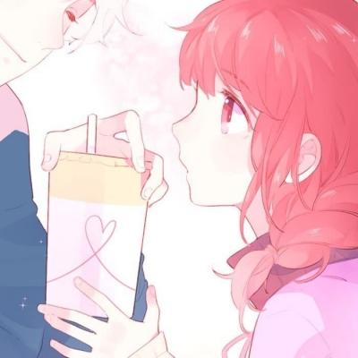 唯美甜蜜动漫情头