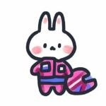 超萌兔子头像卡通 高清可爱的兔子头像超萌卡哇伊图片