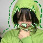 女生qq头像绿色系 高清清新可爱的绿色女头图片