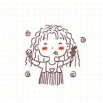 微信头像手绘可爱 高清简单可爱的手绘女头萌萌哒图片