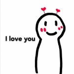 微信头像情侣简单卡通 一对两张的可爱简单卡通情侣头像图片