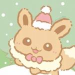 高清超萌的可爱卡通圣诞头像图片