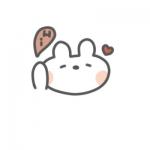 qq头像兔子头像动漫 高清超萌可爱的兔子卡哇伊头像动漫图片
