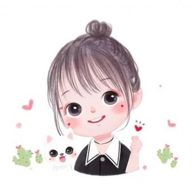 小女孩漫画微信头像