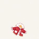 微信可爱小头像 高清可爱的冬天防寒用品头像图片