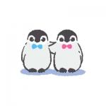 小企鹅头像 高清简单的萌萌哒小企鹅头像卡通图片