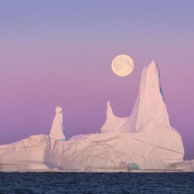 微信头像冰山雪景图片