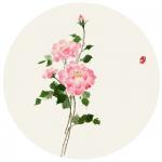 唯美手绘花头像 高清好看的手绘花朵唯美图片精选