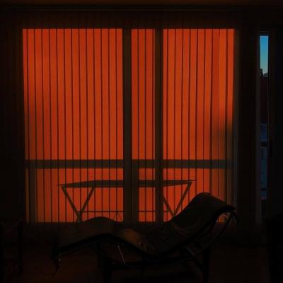 夕阳西下静物风景头像