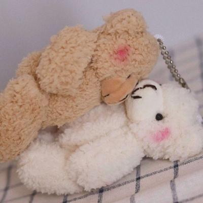 微信情侣头像布偶熊