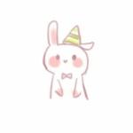 微信可爱兔头像 高清超萌的卡通头像可爱兔子图片