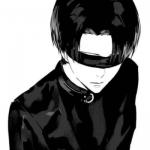 微信黑白个性头像动漫 高清丧气的微信黑白卡通头像图片