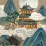 高清唯美的古风插画头像图片 中国风风景人物图