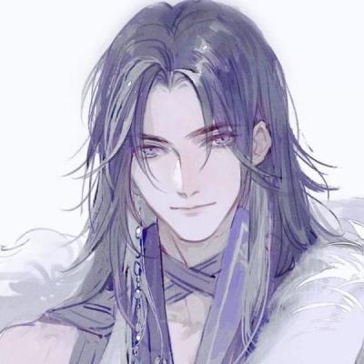 帅气古风手绘男生头像