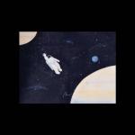 太空宇航员头像 高清手绘的太空宇航员动漫头像图片