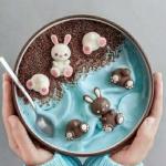 高清创意精美的巧克力图片可爱头像