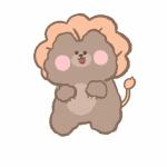 网红小熊卡通头像 高清超萌可爱的小熊头像简笔画图片