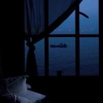黑蓝色的微信风景头像图片大全 孤独安静美好
