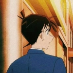 名侦探柯南头像情侣 高清一对两张的名侦探柯南系列情侣头像图片