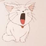 猫咪动漫头像 高清好看的动漫猫咪头像可爱图片