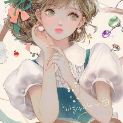 微信手绘头像女生唯美