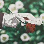 高清唯美玫瑰信封动漫头像图片大全