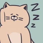 犯困的动漫头像 高清可爱超萌瞌睡犯困的头像图片