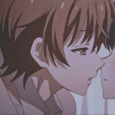 qq动漫情侣头像甜甜的