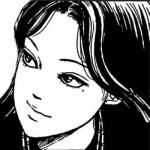 伊藤润二风格头像女头 高清黑白的伊藤润二动漫人物头像女图片