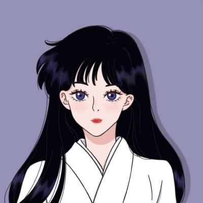 美少女战士手绘头像