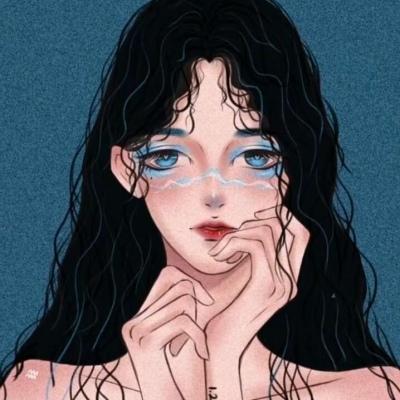十二星座系列手绘头像女生