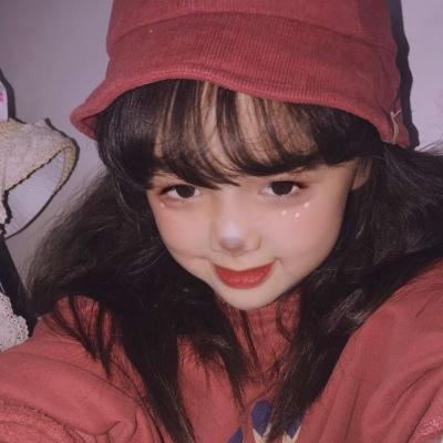 小女孩可爱微信图像
