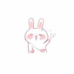 可爱动漫兔子头像 高清超萌的小兔子微信头像可爱图片