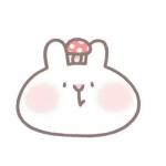 可爱萌兔头头像,高清超萌可爱的卡通兔头头像图片
