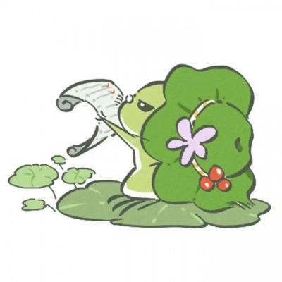 旅行青蛙头像卡通