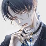 qq头像戴眼镜男生头像动漫,高清好看的戴眼镜超清动漫头像男