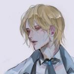 孤独伤感动漫男生头像,高清帅气的男生伤感坠落动漫头像图片