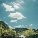唯美淡蓝天空头像,高清好看的唯美蓝色天空头像图片